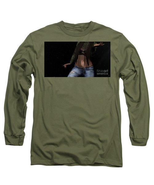 Dancing In The Rain 3 Long Sleeve T-Shirt