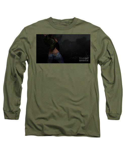 Dancing In The Rain 4 Long Sleeve T-Shirt