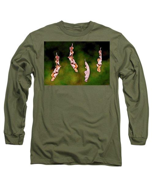 Dancing Leaves Long Sleeve T-Shirt