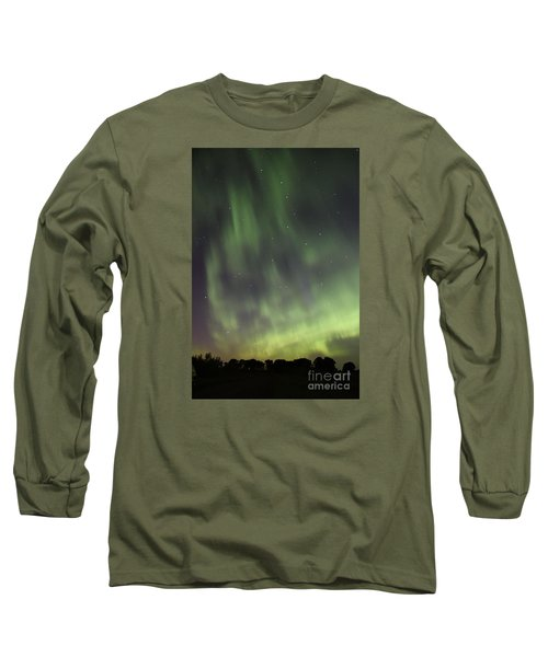 Long Sleeve T-Shirt featuring the photograph Dancing With The Dipper by Larry Ricker