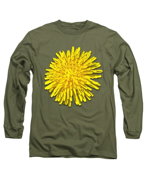 Dandelion 2 Long Sleeve T-Shirt by Bob Slitzan