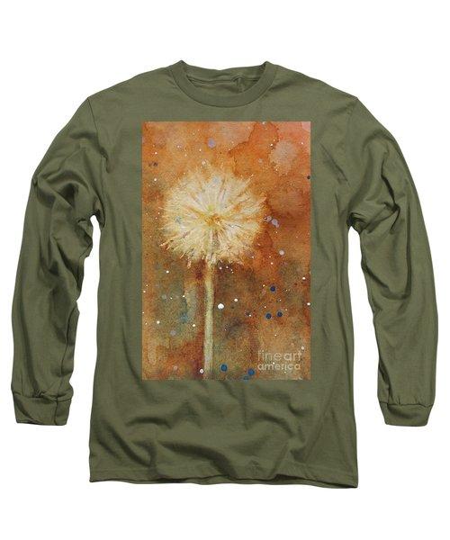Dandelion Clock 1 Long Sleeve T-Shirt
