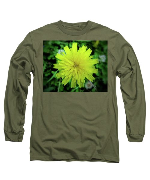 Dandelion Symmetry Long Sleeve T-Shirt