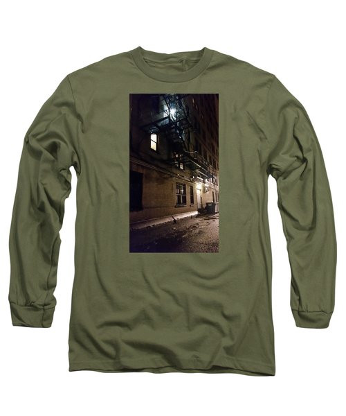 Dark And Rainy Night Long Sleeve T-Shirt