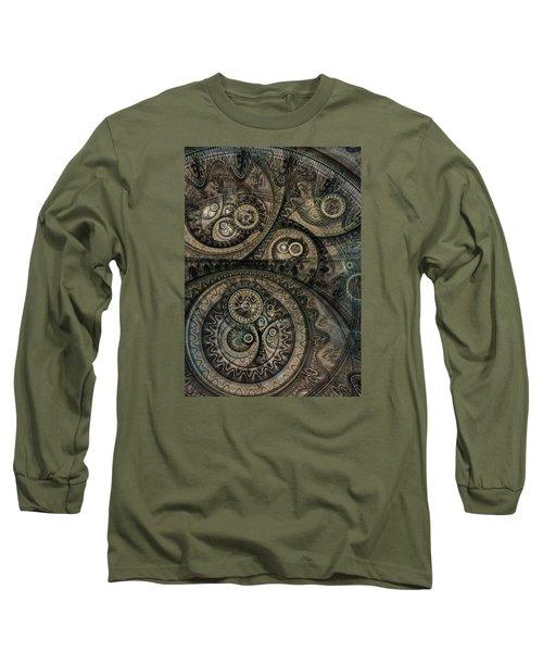 Dark Machine Long Sleeve T-Shirt by Martin Capek