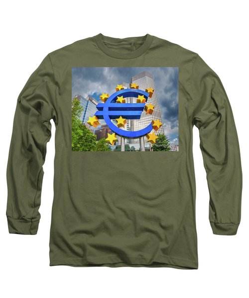 Money Troubles Long Sleeve T-Shirt by JR Photography