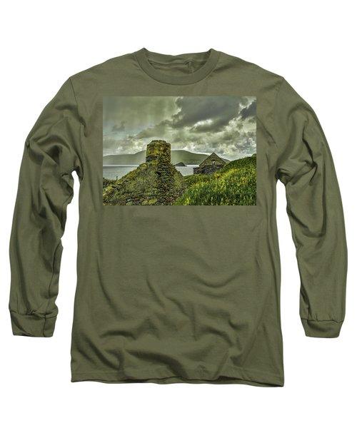 Dark Sky #g0 Long Sleeve T-Shirt by Leif Sohlman