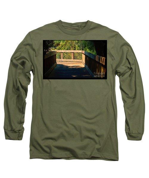 Darkness To Light Long Sleeve T-Shirt by Pamela Blizzard