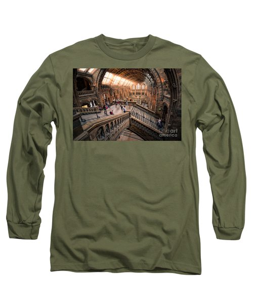 Darwin And Friends Long Sleeve T-Shirt by Giuseppe Torre