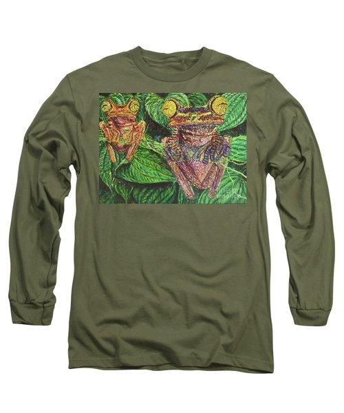 Date Night Long Sleeve T-Shirt by David Joyner