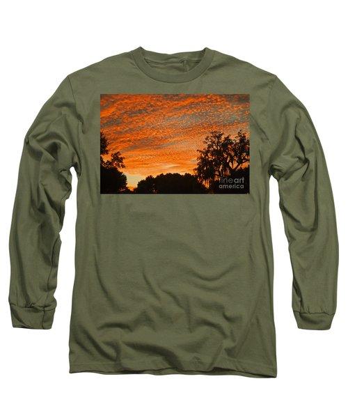 Davenport At Dusk Long Sleeve T-Shirt