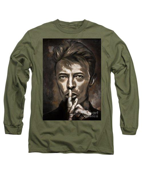 David Long Sleeve T-Shirt by Andrzej Szczerski