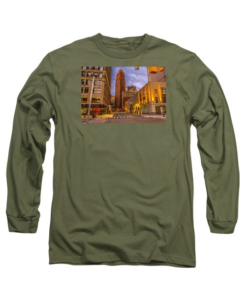 David Stott Building  Long Sleeve T-Shirt