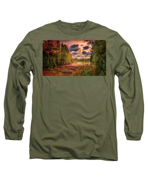 Dawn At The Lake Long Sleeve T-Shirt