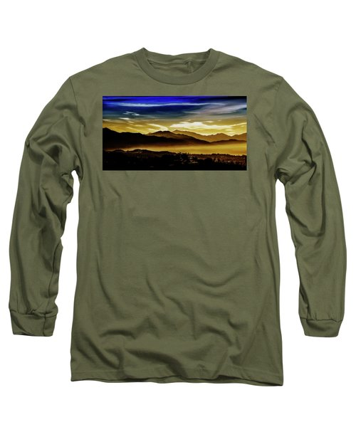 Long Sleeve T-Shirt featuring the photograph Day Break 2a1 by Joseph Hollingsworth