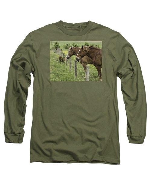 Day Dreamers Long Sleeve T-Shirt by Elizabeth Eldridge