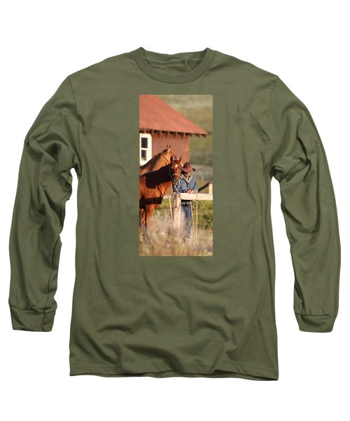 Day Thoughts Long Sleeve T-Shirt