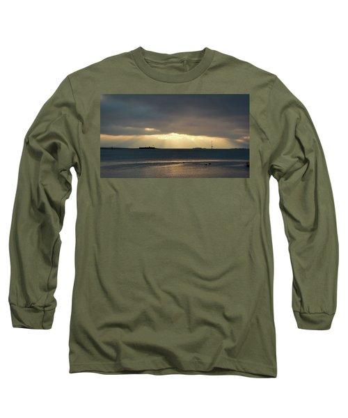 Daybreak Charleston Long Sleeve T-Shirt by Ed Waldrop