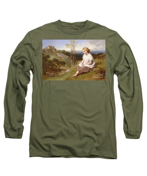 Daydreaming On The River Bank Long Sleeve T-Shirt