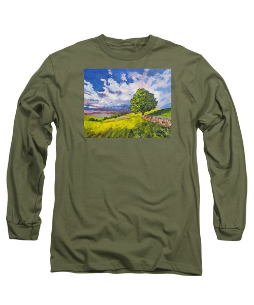 Dazzling Sky Pallet Knife Long Sleeve T-Shirt