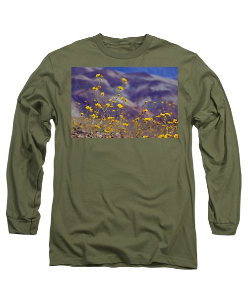 Long Sleeve T-Shirt featuring the photograph Death Valley Superbloom 103 by Daniel Woodrum