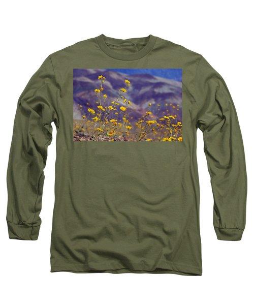 Death Valley Superbloom 103 Long Sleeve T-Shirt by Daniel Woodrum