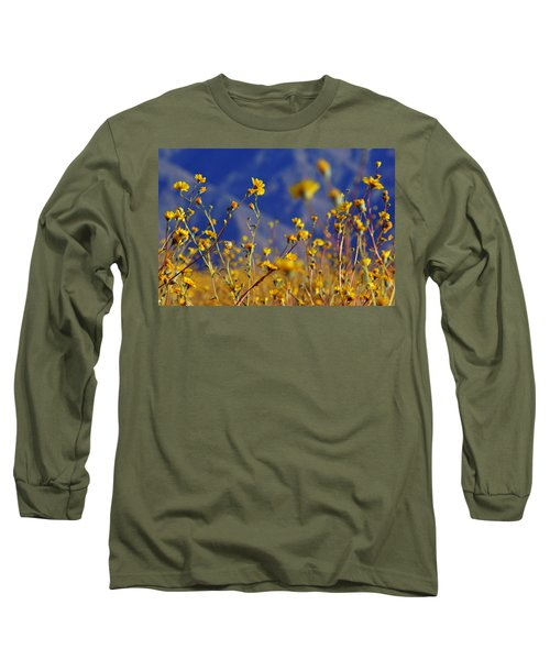 Long Sleeve T-Shirt featuring the photograph Death Valley Superbloom 505 by Daniel Woodrum