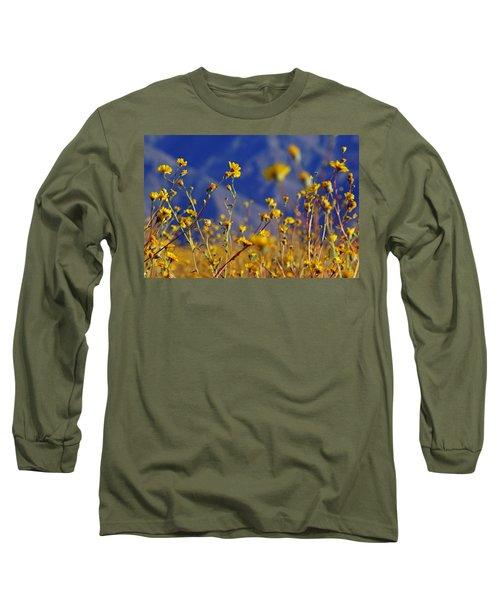 Death Valley Superbloom 505 Long Sleeve T-Shirt by Daniel Woodrum