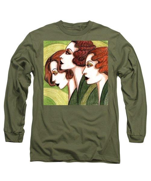 Debutante Trio Long Sleeve T-Shirt by Tara Hutton