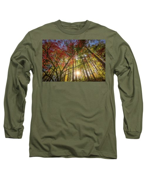 Decorated By Japanese Maple Long Sleeve T-Shirt