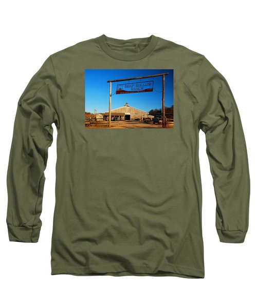 Long Sleeve T-Shirt featuring the photograph Deep Hollow Ranch  by James Kirkikis