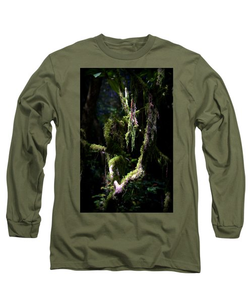 Long Sleeve T-Shirt featuring the photograph Deep In The Forest by Lori Seaman