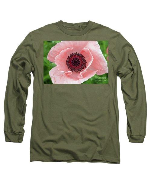 Deep Pink Long Sleeve T-Shirt