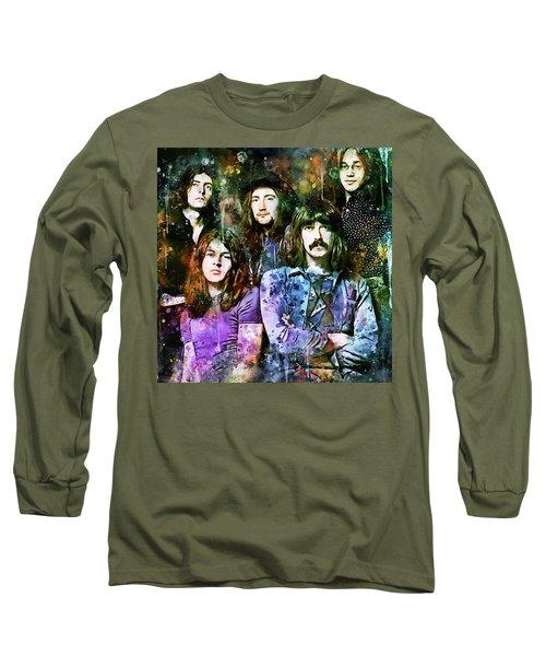 Deep Purple Together Long Sleeve T-Shirt