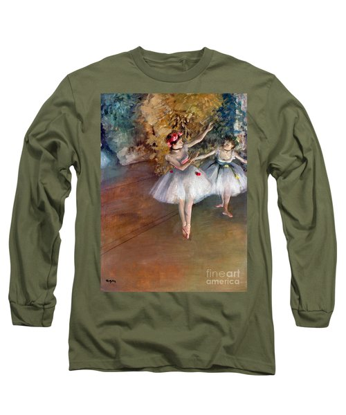 Degas: Dancers, C1877 Long Sleeve T-Shirt