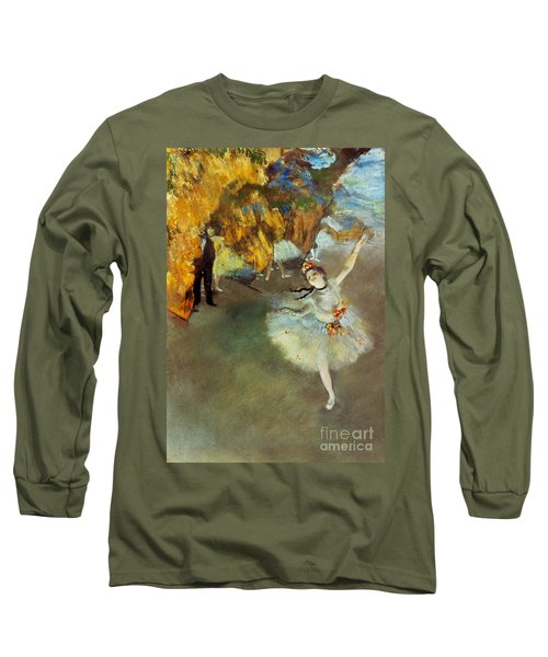 Degas: Star, 1876-77 Long Sleeve T-Shirt