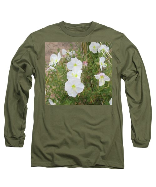 Delicate Desert Bloom - Death Valley Long Sleeve T-Shirt