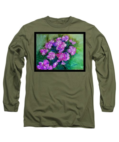 Delicate Pastel Long Sleeve T-Shirt