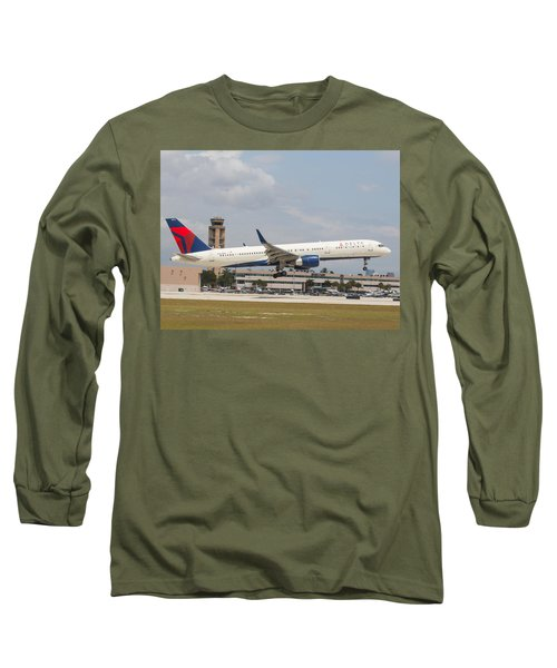 Delta Airline Long Sleeve T-Shirt