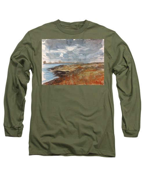 Delta Marsh - Fall Long Sleeve T-Shirt