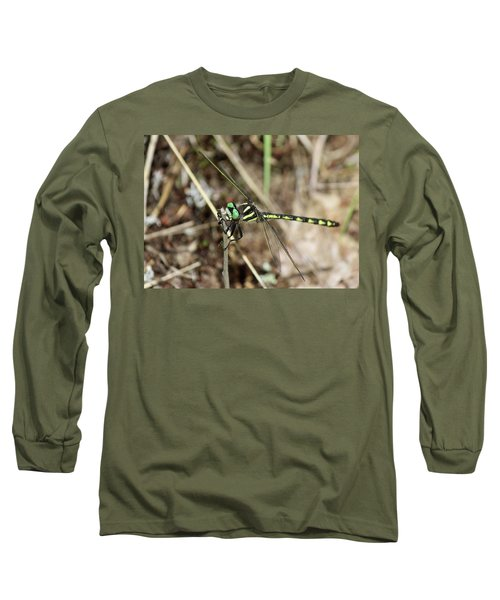 Delta-spotted Spiketail  Male Long Sleeve T-Shirt
