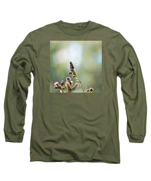Long Sleeve T-Shirt featuring the photograph Demon by Leif Sohlman