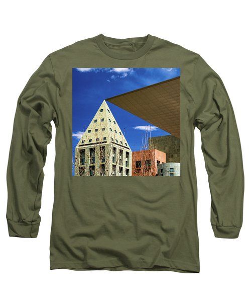 Denver Urban Geometry Long Sleeve T-Shirt