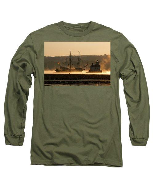 Departure Of El Galeon I Long Sleeve T-Shirt