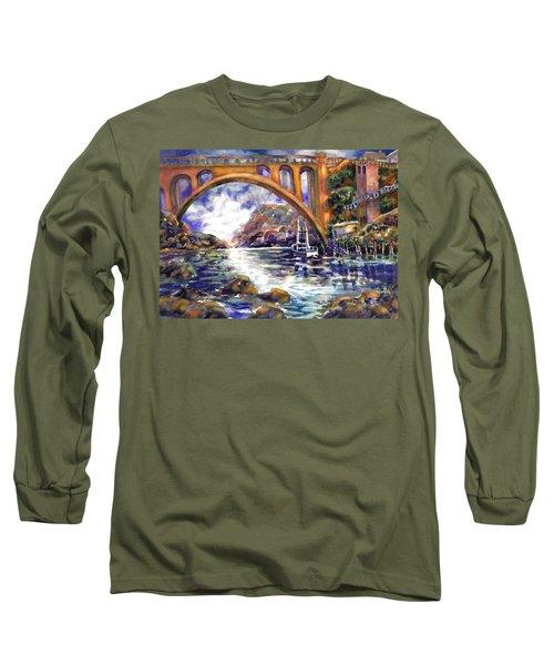 Depoe Bay Bridge Long Sleeve T-Shirt