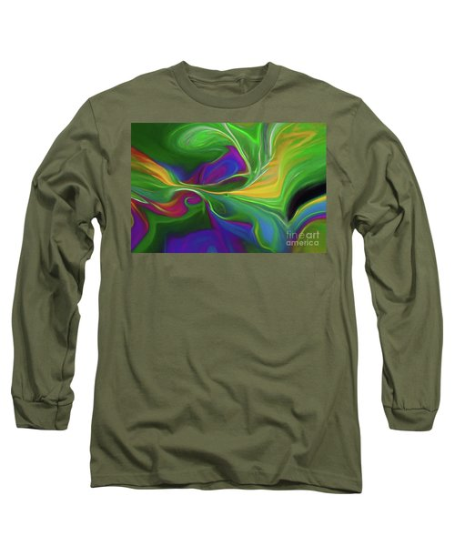 Descending Into Darkness Long Sleeve T-Shirt