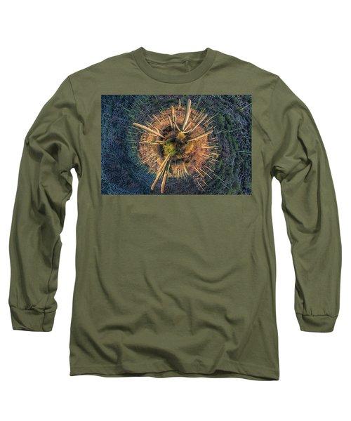 Long Sleeve T-Shirt featuring the photograph Desert Big Bang by Lynn Geoffroy