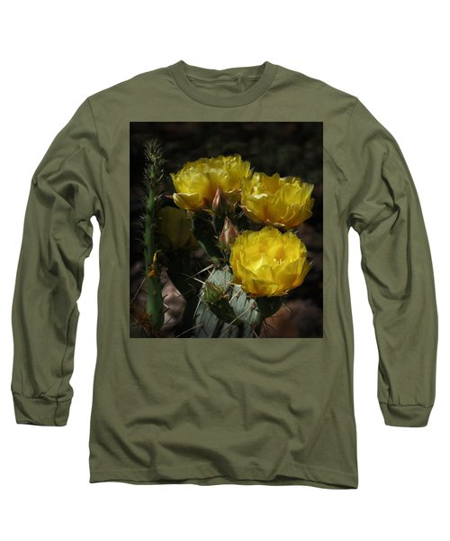 Desert Blooming Long Sleeve T-Shirt