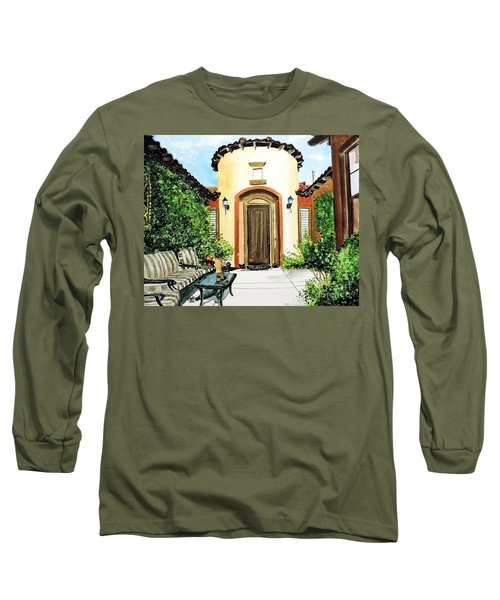 Desert Getaway Long Sleeve T-Shirt by Tom Riggs