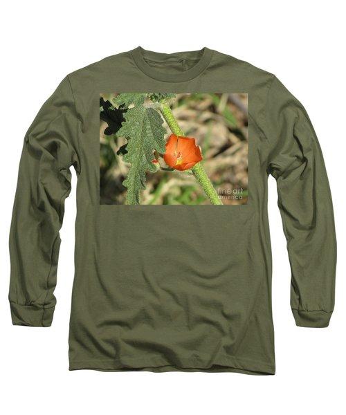 Desert Globemallow Bloom 202 Long Sleeve T-Shirt